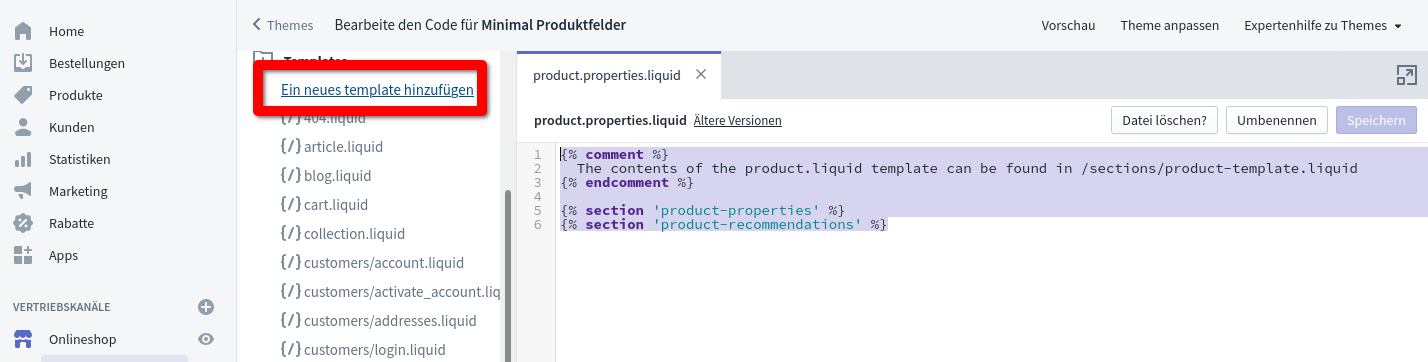 Code Editor New Template
