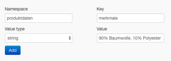 Metafields Editor Produktmerkmale