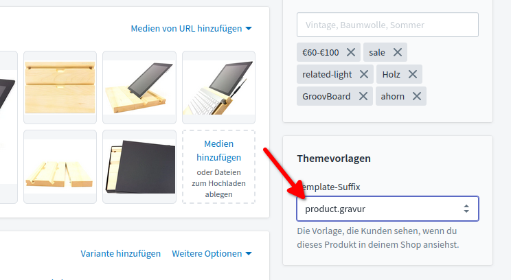 New Product Template